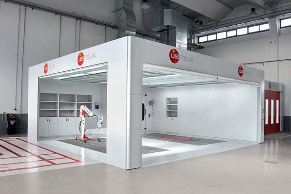 Cabinas de pintura para taller I Cabinas de pintura Usi Italia - Work ove