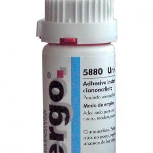 Adhesivo Instantáneo Ergo Negro 20g